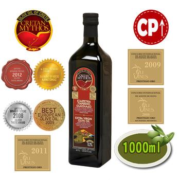 ★結帳現折★克里特 Cretan Mythos特級初榨冷壓橄欖油(1L)