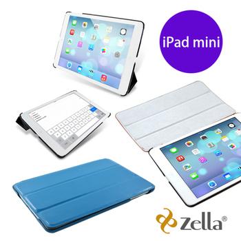 Zella 【福利品】Z-Smart-Lite iPad mini保護皮套(藍色)