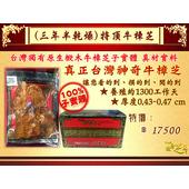 《百年永續健康芝王》牛樟芝/菇(三年半特頂) 乾燥品 (11g /1兩)