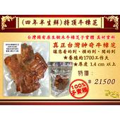 《百年永續健康芝王》牛樟芝/菇(四年半特頂) 生鮮品 (37.5g /1兩)