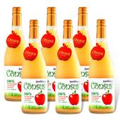 《康瑟司》Consus 100%纖醇蘋果汁(750ml/瓶)(6瓶)
