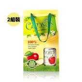 《康瑟司》Consus 100%纖醇蘋果汁禮盒組(750ml/瓶)(2盒)