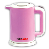 《KRIA可利亞》1.8L雙層防燙全開口式迷你開水瓶/快煮壺/電水壺KR-1310