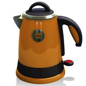 《KRIA可利亞》1.5L全開口式不銹鋼炫彩快煮壺/電水壺KR-302