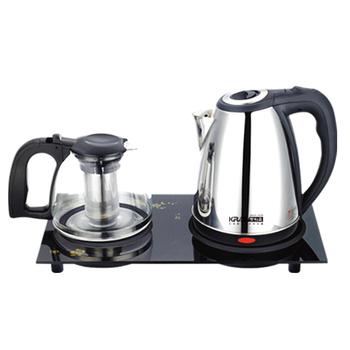 KRIA可利亞 二合一套裝泡茶機/電熱水瓶/泡茶壺/沖泡壺/電水壺KR-1325