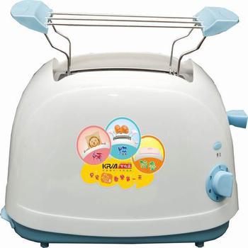 《KRIA可利亞》烘烤二用笑臉麵包機 KR-8002(藍色)