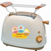 《KRIA可利亞》烘烤二用笑臉麵包機 KR-8003(咖啡色)