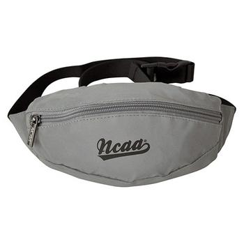 NCAA NCAA後背包 反光防潑水運動小腰包 銀灰色(銀灰色)