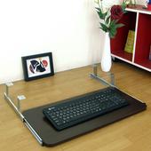 《頂堅》寬60公分-耐用堅固型-鍵盤抽/鍵盤架(二色可選)-1入/組(深胡桃木色)
