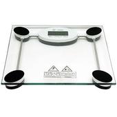 黑白方型150公斤鋼化玻璃 體重計(2008C)
