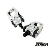 《STRIDA》鋁合金折疊腳踏(銀)