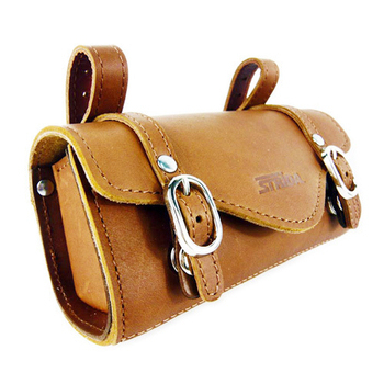 《STRIDA》真皮高質感座墊袋(咖啡)