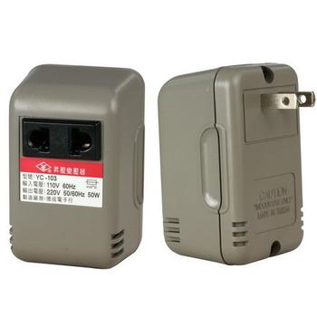 月陽 50W110V變220V旅行用電源昇壓器(YC-103)