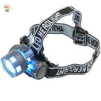 ★結帳現折★月陽 3W160流明聚焦頭戴式強光LED頭燈電筒(6617)