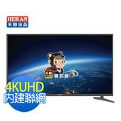 《HERAN禾聯》43型IPS硬板4KUHD超值聯網LED液晶顯示器+視訊盒(含基本安裝)(434K-C2)