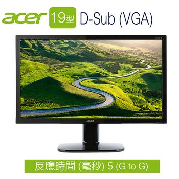 Acer宏碁 KA190HQ 19型 護眼寬液晶螢幕