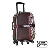 《BATOLON寶龍》25吋貴氣豹紋行李箱(咖啡)