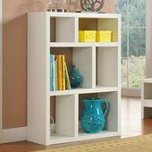 《佳嘉家》DIY西西里六格櫃/展示櫃/書櫃/收納櫃/隔間櫃-兩色選擇(白)