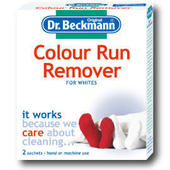 《Dr. Beckmann》德國原裝進口貝克曼博士染色還原劑(白衣適用)2包/盒