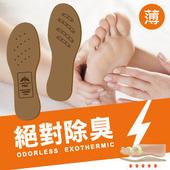 《Moi 摩異》負離子震盪波絕對除臭鞋墊(薄:1.5mm)(女L(25cm))