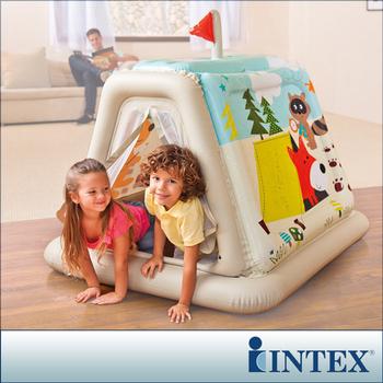 INTEX 幼童款-室內帳篷/充氣式遊戲帳篷(48634)