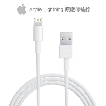 Apple 原廠 Lightning 8Pin 傳輸充電線【贈】iPhone6/6s清水套(不挑色)(iPhone6/6s)