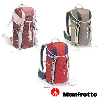 《Manfrotto》Off Road Hiker 20L 越野登山後背包 20L(玫瑰紅)