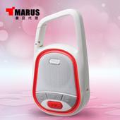 《MARUS【馬路】》防撥水運動型重低音藍牙喇叭(MSK-92)(紅色)