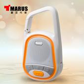 《MARUS【馬路】》防撥水運動型重低音藍牙喇叭(MSK-92)(橙色)