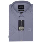《MURANO》美版商務短袖襯衫 - 藍(15.5)