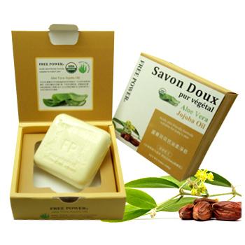 芙玉寶 蘆薈荷荷芭油柔淨皂(160g)