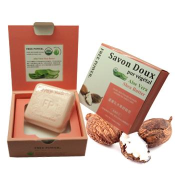 芙玉寶 蘆薈乳木果舒敏皂(160g)