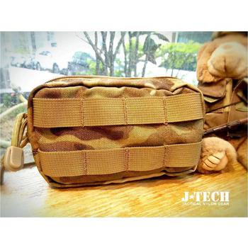 J-TECH 小型Molle眼鏡袋/雜物袋(美國多地迷彩)