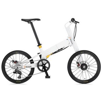 IF MOVE 20吋鋁合金三秒折疊單車 二色可選(經典白-金圈)