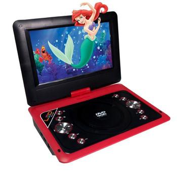 《NEROS》NEROS 美型天籟(紅) 10吋LED數位電視隨身DVD(DVB-T)(可撥放2.5小時)