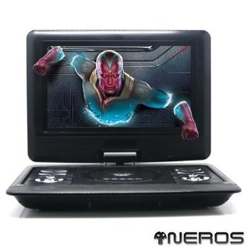 《NEROS》NEROS【幻視奇俠】10吋 移動式RMVB-DVD(2小時版)