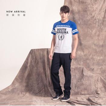 FATAN 素面基本款直筒休閒褲(三色)(黑32)