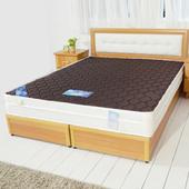《時尚屋》6尺英式經典雙色三線獨立筒彈簧床墊