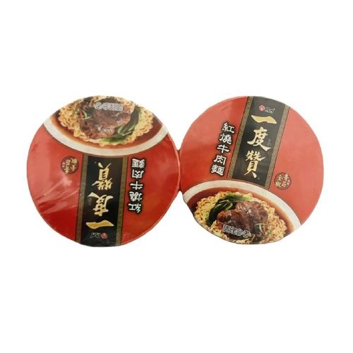 維力 一度贊-紅燒牛肉麵(200gx2碗/組)