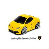 《RIDERS》Lamborghini  藍寶堅尼 跑車造型 行李箱/玩具箱(黃色)