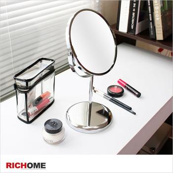RICHOME 格瑞絲雙面立鏡(銀色)