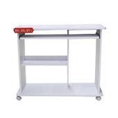 時尚純白電腦桌(白色)