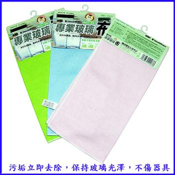 《月陽》台灣製造專業擦玻璃魔術擦布抹布超值3入(TA0363)