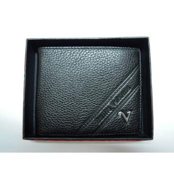 【Emilio Valentino 范倫鐵諾】 精緻全牛皮短夾禮盒 父親節 情人節 生日送禮的最佳禮物#230001