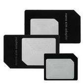 《ZIYA》智慧型手機/平板電腦 SIM 轉接卡 (大+中+小 X3入)
