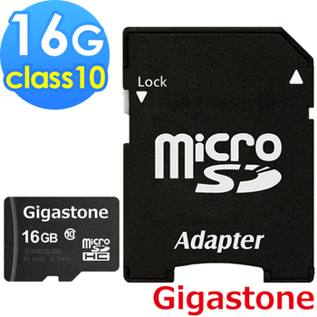 Gigastone microSDHC Class10 16G記憶卡(16G)