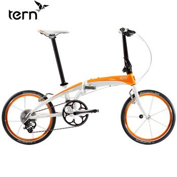 Tern Verge X10 20吋10速鋁合金折疊單車(白底橘標)
