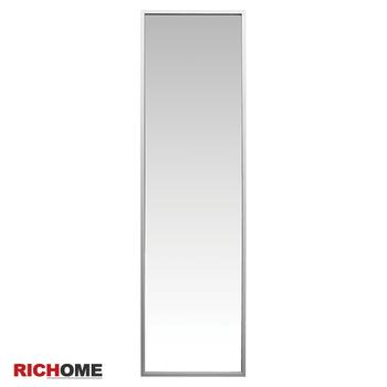 ★結帳現折★RICHOME 里恩時尚鋁框壁鏡(鋁色)