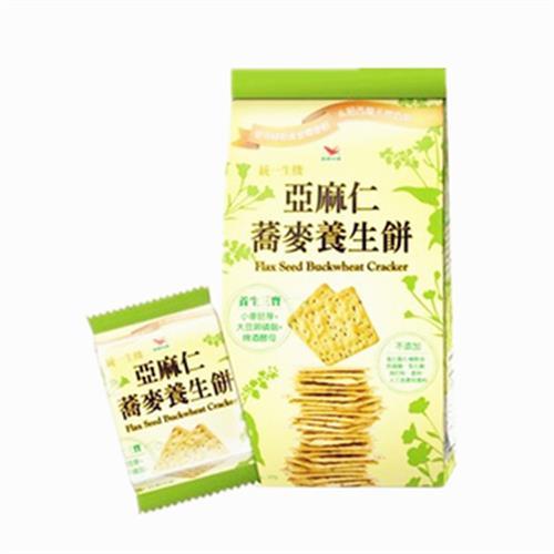 統一生機 亞麻仁蕎麥養生餅(294g/包)