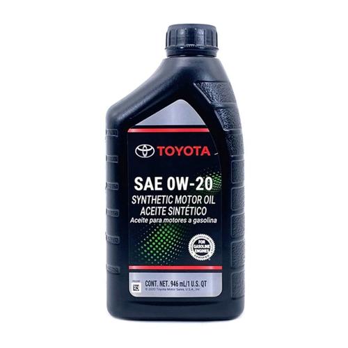 TOYOTA原廠合成機油 OW20(946ml/瓶)